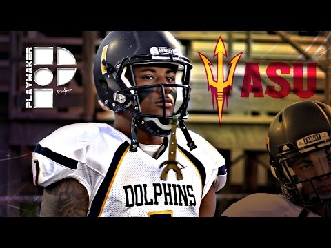 RB Jaason Lewis Official Playmaker Mixtape! Arizona State Bound!
