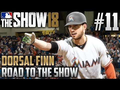 MLB The Show 18 Road to the Show | Dorsal Finn (Third Base) | EP11 | MLB DEBUT