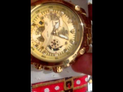 f06237aa1f3 Aliexpress Relógio Casio Edifice Red Bull Dourado