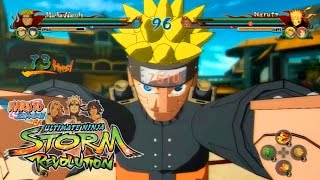vuclip NARUTO SHIPPUDEN: Ultimate Ninja STORM REVOLUTION |  Mecha Naruto Vs Sasuke 【HD】
