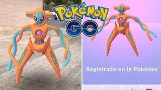 MI PRIMER DEOXYS! CAPTURO Y REGISTRO A DEOXYS! NUEVA INCURSIÓN EXCLUSIVA! [Pokémon GO-davidpetit]
