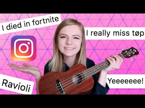 I wrote a song using only your instagram comments!