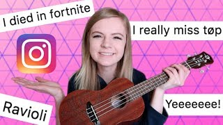I wrote a song using only your instagram comments! thumbnail