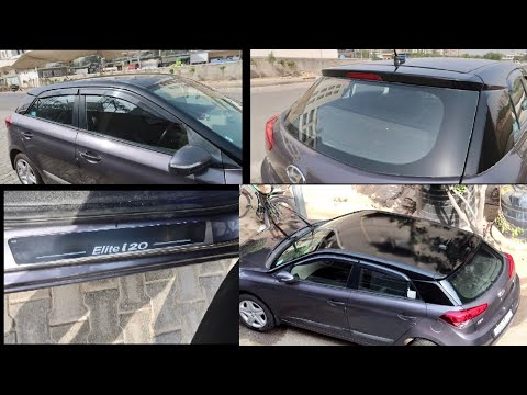 Wrapping My Hyundai Elite i20 | Front Sensors Removed | Modified Hyundai Elite i20