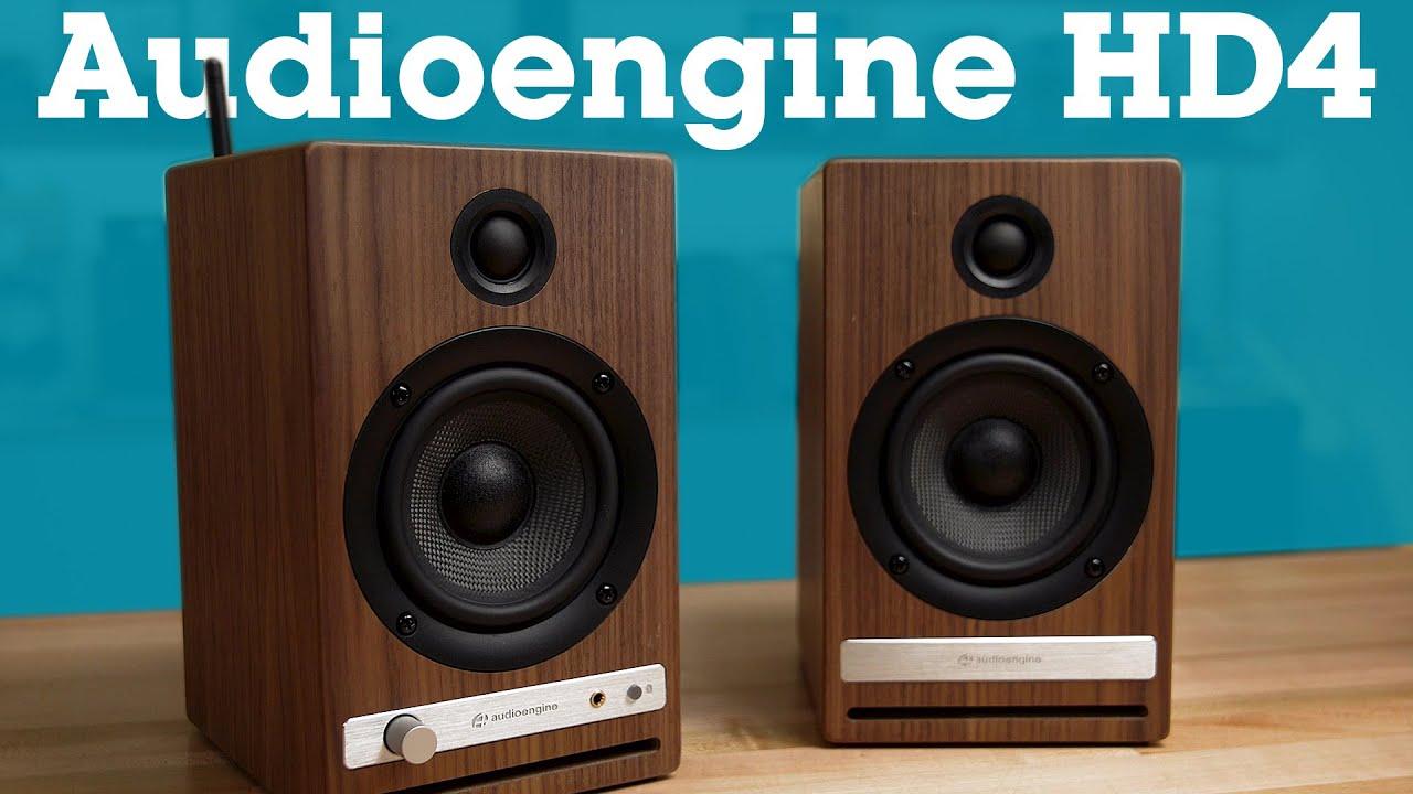 Download Audioengine HD4 powered stereo speaker system | Crutchfield
