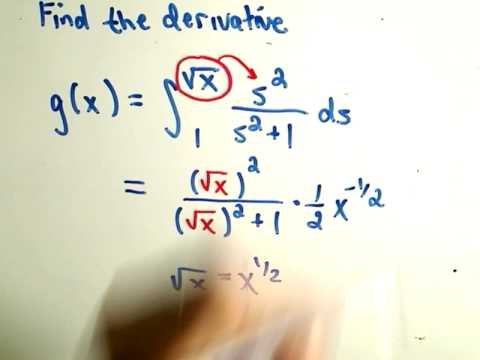 Fundamental Theorem of Calculus Part 1
