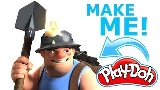 He Is He Mole?! No Silly! Learn How To Make A Miner! l CLASH OF CLANS
