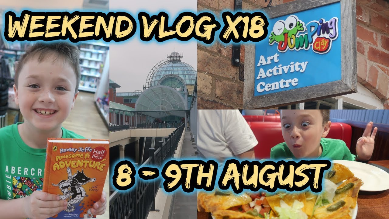 Weekend Vlog No 18 | 8th-9th August | At Home