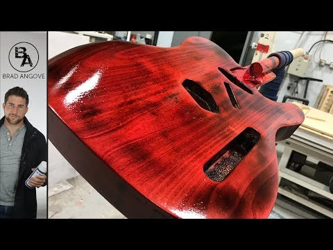How to Paint With Nitrocellulose Lacquer