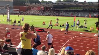 Mattias Sunneborn (Sweden) 13.05m M45 Triple Jump