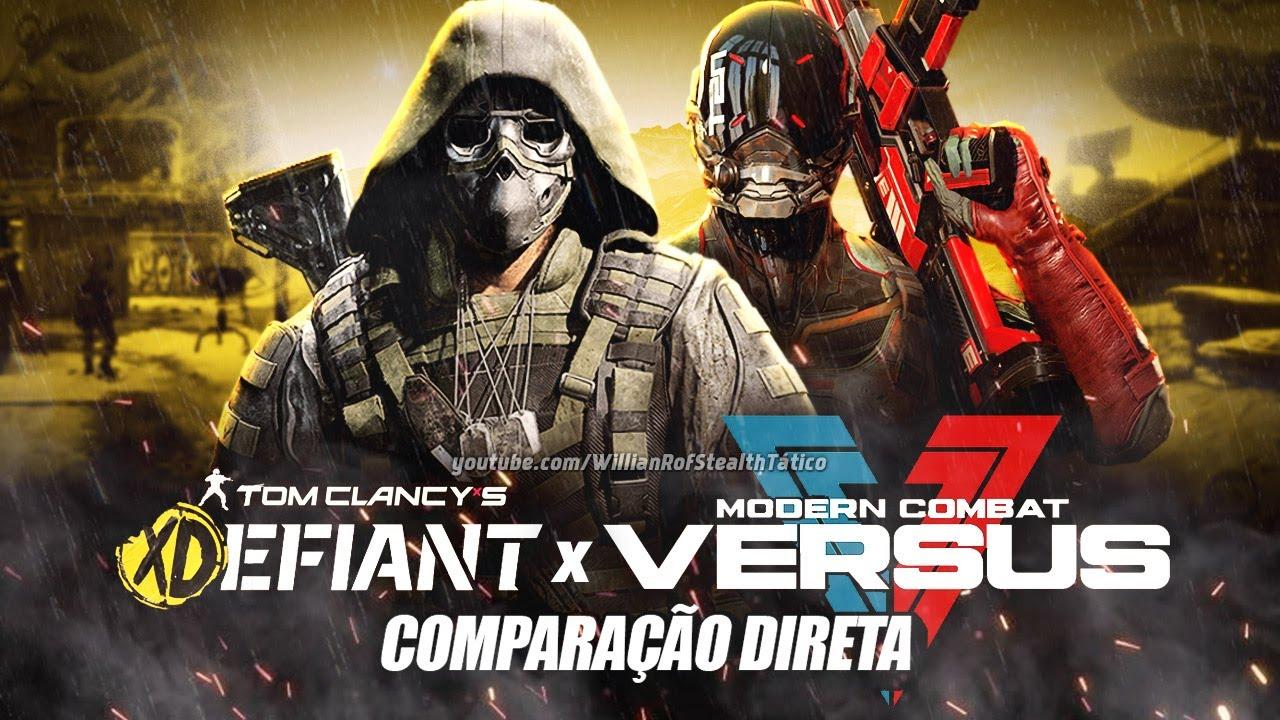 XDefiant x Modern Combat: cópia ou inspiração?
