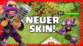 DER PARTY WARDEN! 🔥 Neuer Skin! 🔥 Clash of Clans Update ⭐️ CoC