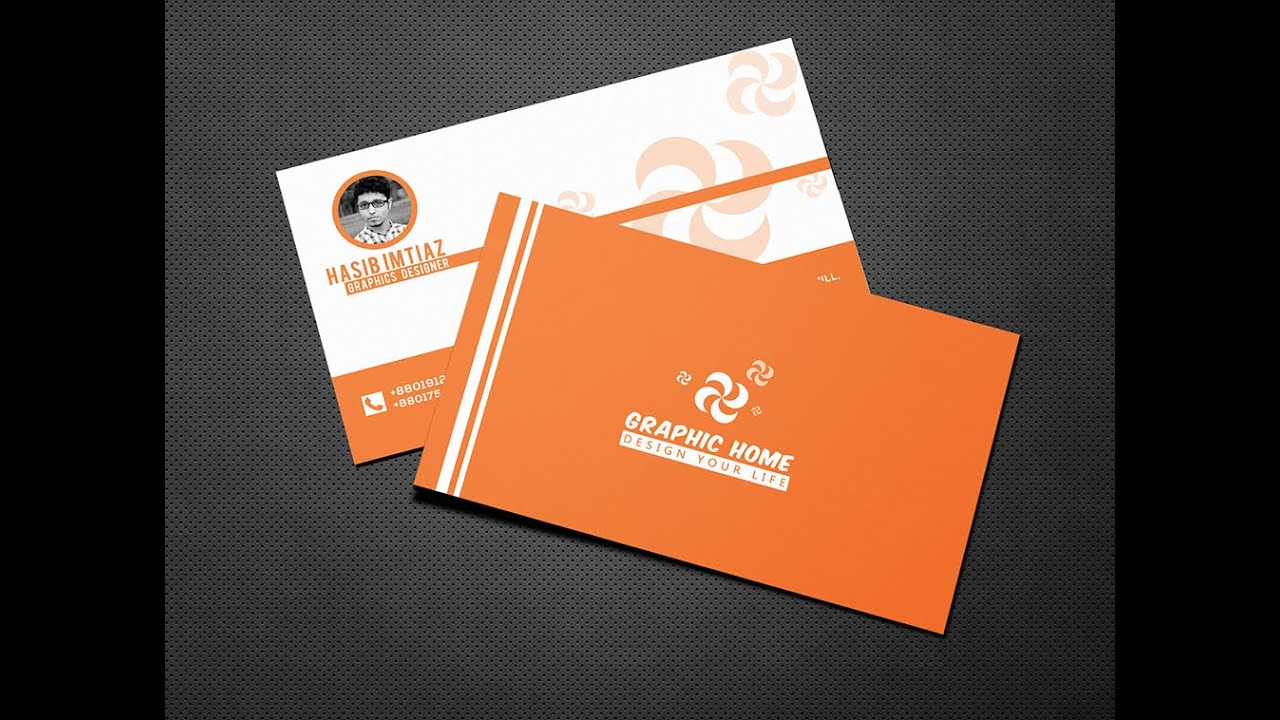 Professional business card design for your business in adobe professional business card design for your business in adobe photoshop youtube reheart Gallery
