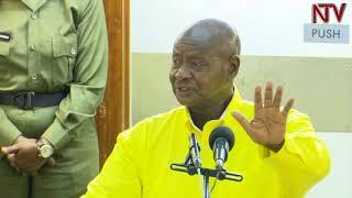 EBY'OKWERINDA MU GGWANGA:  Museveni aliko amagezi g'awadde thumbnail
