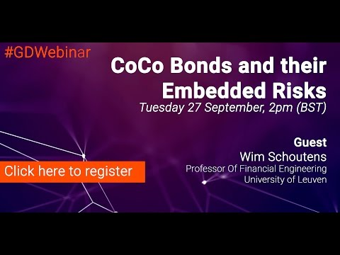 Webinar: Coco Bonds and Their Embedded Risks