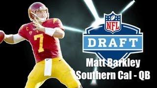 Matt Barkley - 2013 NFL Draft Profile