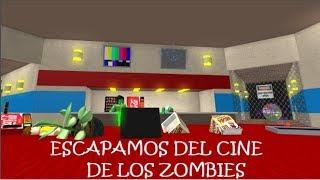 ¡LOS ZOMBIES HAN INVADIDO EL CINE! | Roblox⭐Mapas random | GamePlaysMix