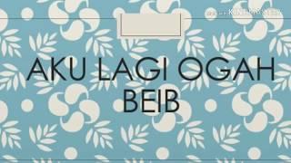 Ghea Youbi - Gak ada waktu beib (Lirik 🎼 )