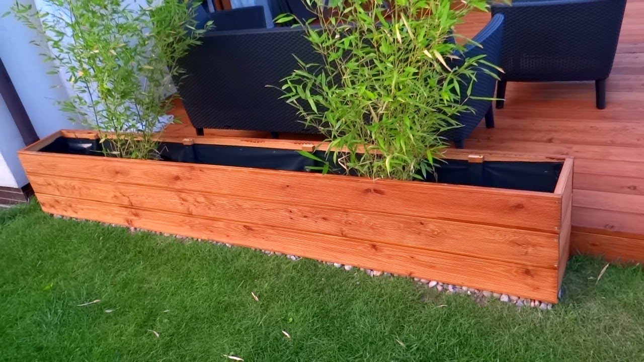 Make A Garden Planter From Decking Tutorial