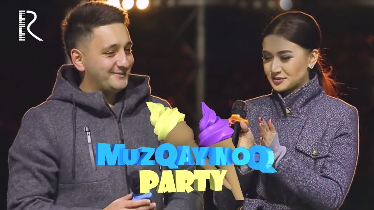 Muzqaymoq party - Manzura adashganini tan oldi