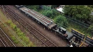 Track Tec: 9 rozjazdów w jednym pociągu