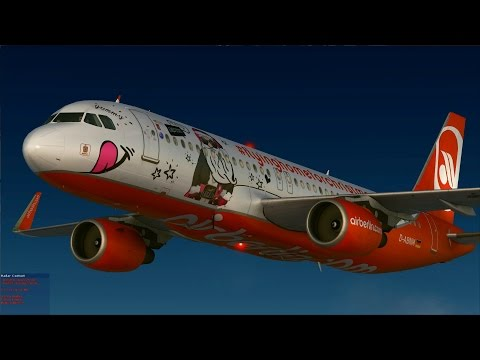 [FSX] airberlin Flying Home for Christmas 2015