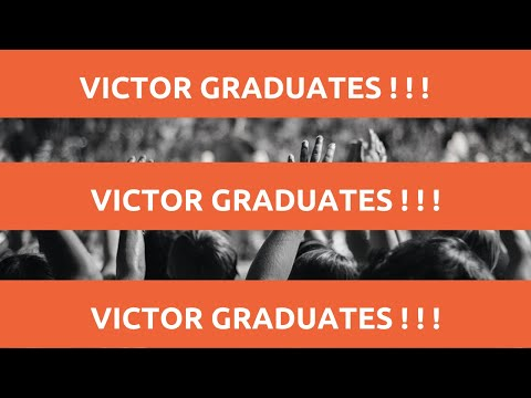 Today Victor graduates in Monrovia, Liberia! THANKS TO ALL OF YOU!!!!