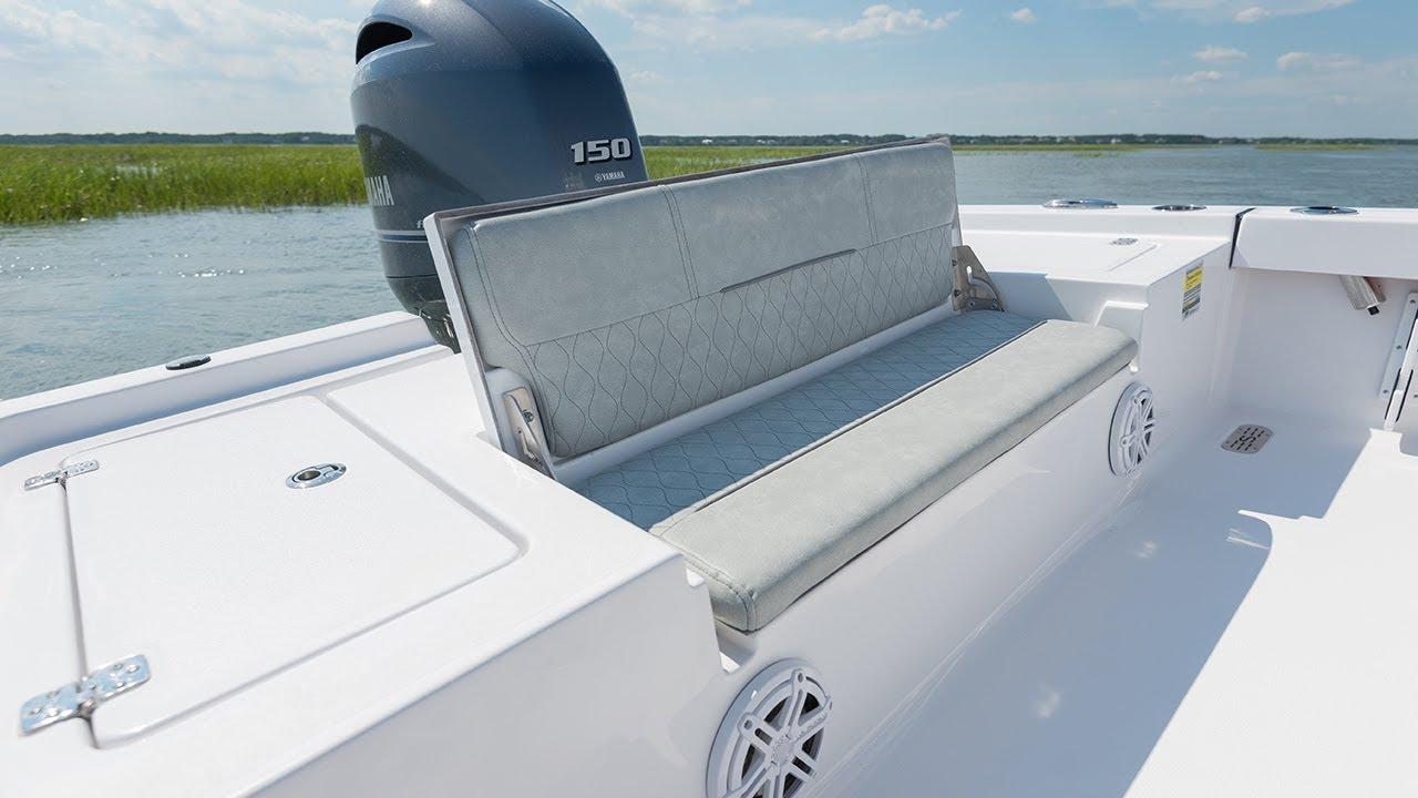 Sportsman Masters 207 Bay Boat - Rear Bench Seat