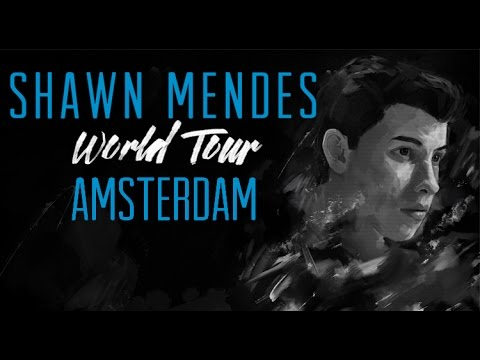 Shawn Mendes World Tour Amsterdam - Soundcheck + Full Concert - front row