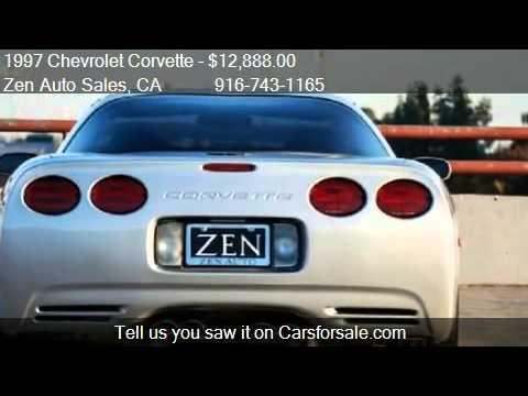 1997 Chevrolet Corvette C5 Targa Coupe For Sale In Sacrame Youtube