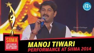Singer Manoj Tiwari Live Performance - Bharat Desh Hai Mera Song @ SIIMA 2014, Malaysia