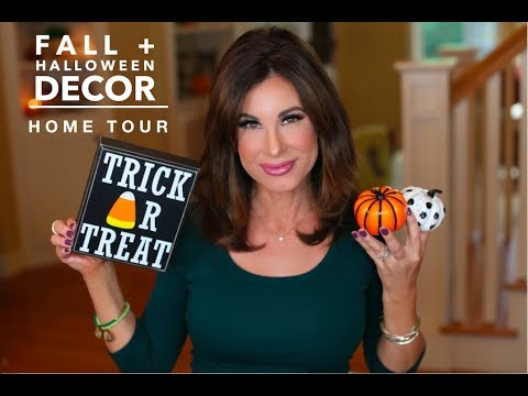 Fall + Halloween DECOR | HOME TOUR | Planning TIPS