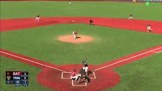 Trinity Baseball vs. Bates Highlights - 4/21/18