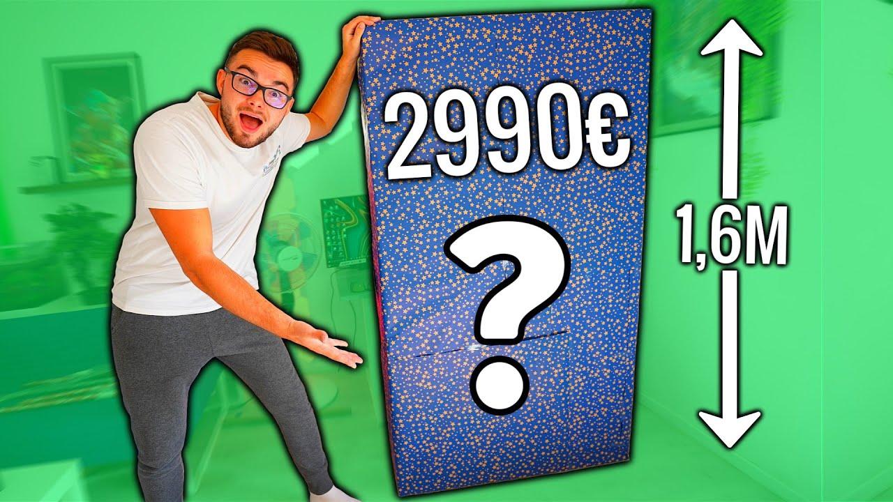 J'AI REÇU UN COLIS SURPRISE XXL A 2990€ ! (Unboxing)