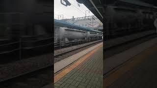 평택역 화물열차 통과