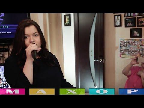 Русская девочка поет на украинском языке