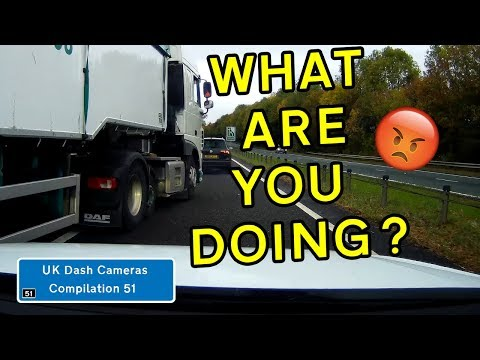 UK Dash Cameras - Compilation 51 - 2018 Bad Drivers, Crashes + Close Calls