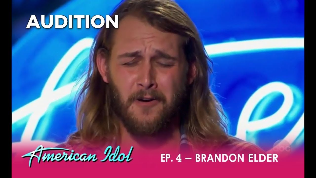 Brandon Elder: His EMOTIONAL Life Story Song Makes The Judges CRY | American Idol 2018