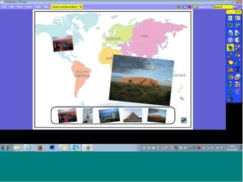 Using an IWB for Humanities and Social Subjects