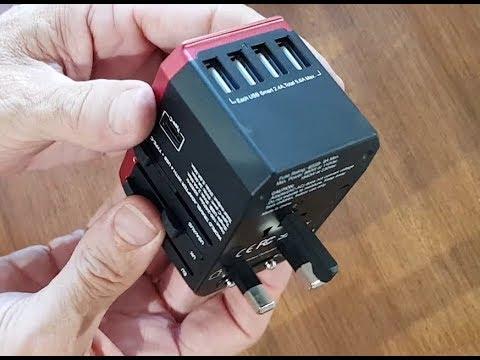Worldwide Travel Adaptor USB-C Review