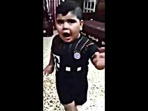 تحشيش الطفل العراقي حسوني الصغير |عيني مديحا بنتج وكيحا thumbnail