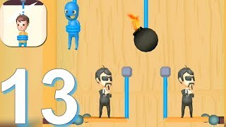 Rescue Cut - Rope Puzzle - Gameplay Walkthrough Part 13 All Levels 335-367 (Android Gameplay)