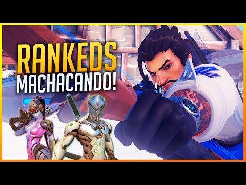 OVERWATCH: MACHACANDO EN DOS RANKEDS CON MUCHOS HÉROES! | Makina thumbnail