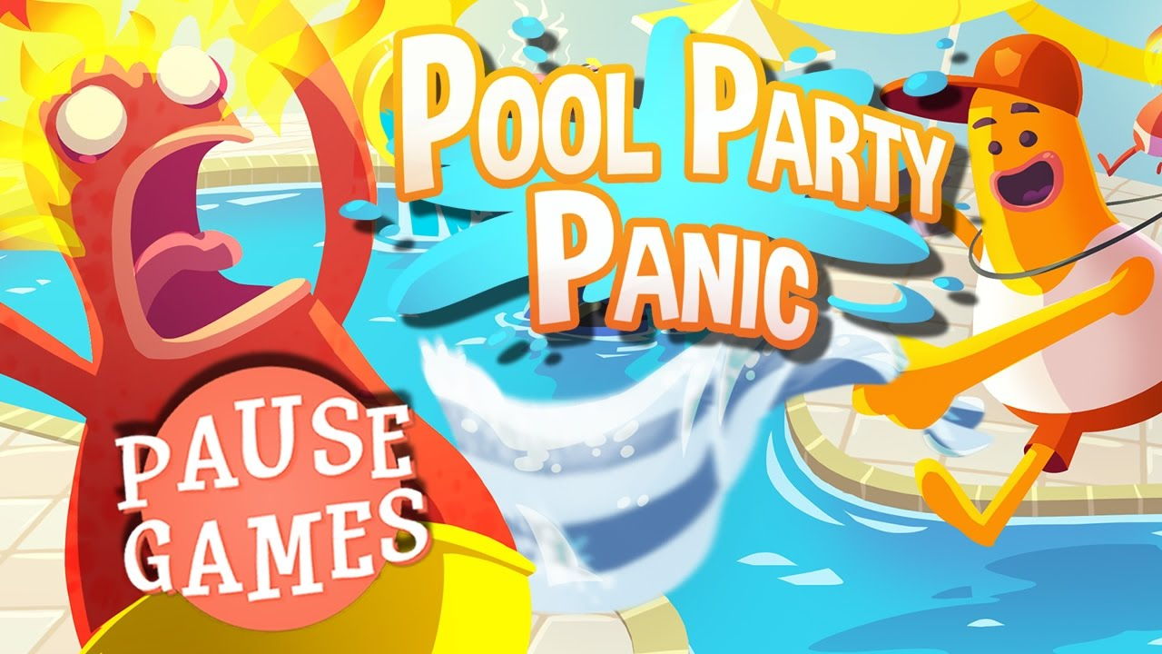 Pause Pool Party Panic Indie Alpha Demo Game Play Video