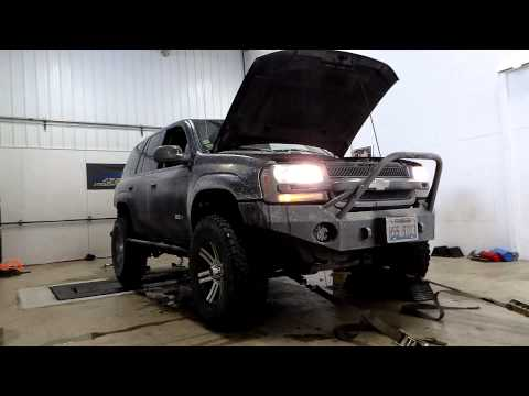 Lifted Trailblazer SS on the Dyno! ErikSS - YouTube