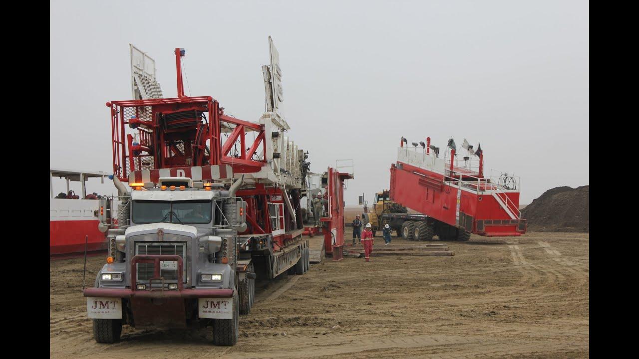 Pickup Truck Bed >> Biggest Truck in Canada ( Oilfield ) Grösste LKWs in ...