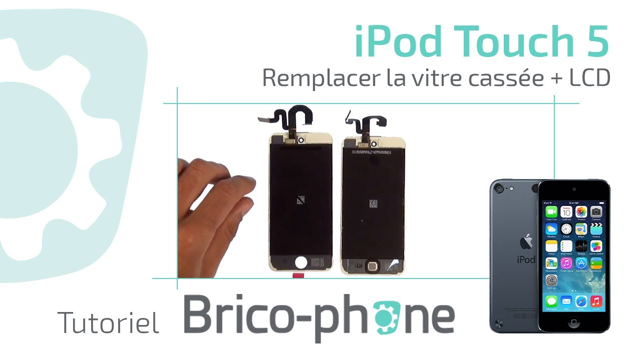 tuto ipod touch 5 changer la vitre cass e lcd d montage remontage hd youtube. Black Bedroom Furniture Sets. Home Design Ideas