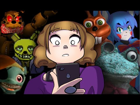 Reviewing The WORST FNaF Mobile Games