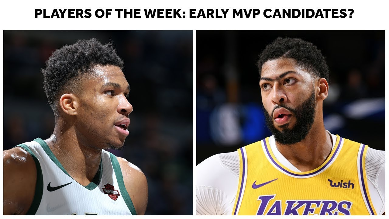 Giannis Antetokounmpo And Anthony Davis Win Player Of The