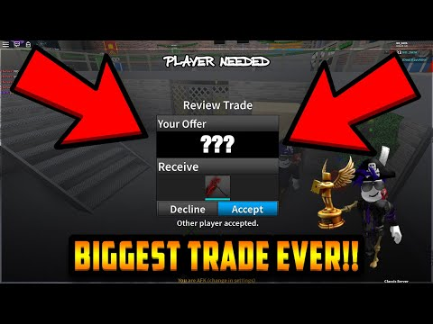 Watch : AN ADMIN TRADED ME THE RAREST ...